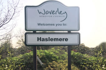 Haslemere Sign